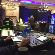 Nevin Zais in Boston working a Connected Event